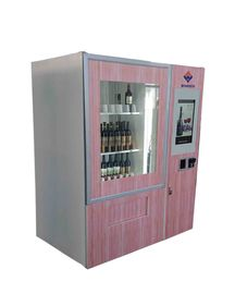 ประเทศจีน Produced Indoor Use Smart Vending Machine With Different Payment Devices โรงงาน