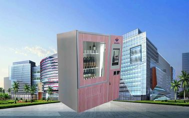 ประเทศจีน CE FCC Winnsen Wine Vending Machine For Shopping Mall With Credit Card Reader Payment โรงงาน