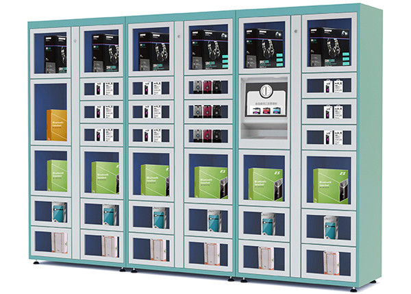 Airport / Station Automated Vending Lockers with Remote Control Function