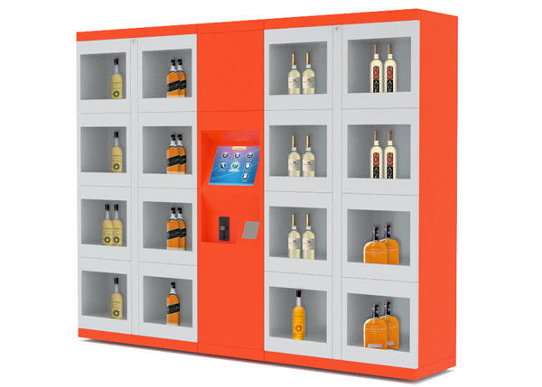 24/7 Intelligent Remote Control Electronic Locker System Retail Vending Machines